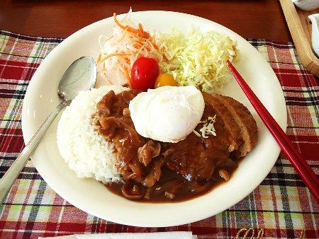 「ロコモコプレート」1,000円(スープ+ドリンク付き)