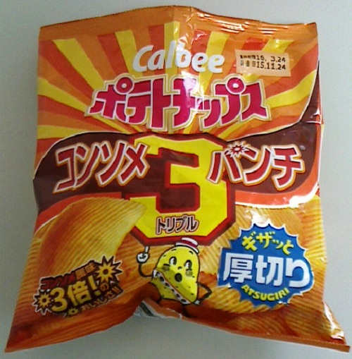 ポテトチップス コンソメ3(トリプル)パンチ